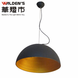 索歌 黑+金吊燈直徑*400mm~設計師燈具 復刻重金屬造型 loft風 [Deja vu]【華燈市】0400517