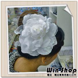 【winshop】新娘祕書必備頭飾胸花(款一),婚紗雙色漸層質感胸花/髮夾/髮飾/裝飾/飾品/精品/胸針