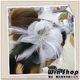 【winshop】新娘祕書必備頭飾胸花(款五),婚紗雙色漸層質感胸花/髮夾/髮飾/裝飾/飾品/精品/胸針