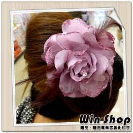 【winshop】新娘祕書必備頭飾胸花(款八),婚紗雙色漸層質感胸花/髮夾/髮飾/裝飾/飾品/精品/胸針