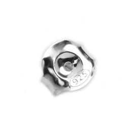 925純銀零件~耳環後束 耳束 耳扣^(大^)~20入