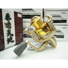 ◎百有釣具◎太平洋POKEE  吞食天地 朱雀 系列捲線器 1000/2000/3000/4000/5000/6000型 ~每顆399元