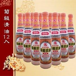 瑞春菊級清油^(醬油^)12瓶入