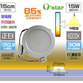 ~ 綠舍 ~ 光神星 崁入孔 15CM 薄型崁燈12W LED 高亮款SMD 全電壓 ^(