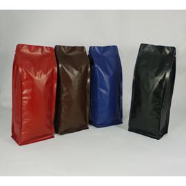 東尚公版袋M500一磅^(霧面 夾邊亮面^)平底袋Box Pouch^(平底^) 50個