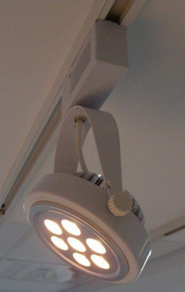 【雅笠节能馆】led ar111 9w 简约式轨道灯 (含灯具+变压器+9w led ar
