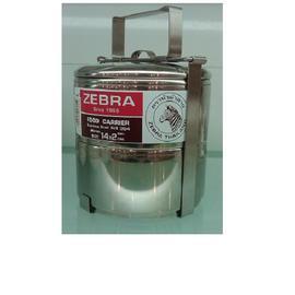 ZEBRA斑馬牌不鏽鋼多層便當盒14x2(NO.8142)