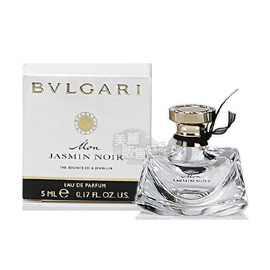 BVLGARI寶格麗 我的夜茉莉淡香精 5ml 小香水~美麗販售機~花香木質麝香調