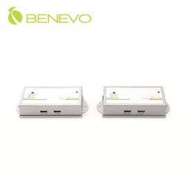 BENEVO Cat5 USB KVM訊號延長器^(BKVME200U^),可延伸電腦控制