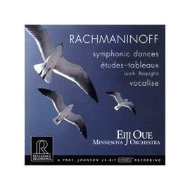 拉赫曼尼諾夫:交響舞曲、練聲曲 200 克 LP  線上試聽 大植英次 指揮 明尼蘇達管絃