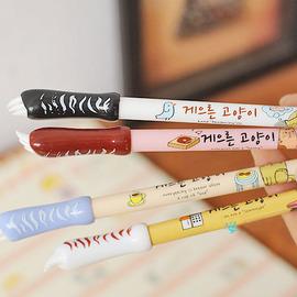 爆款可愛 幸運風貓爪中性筆0.38筆尖~可愛貓爪造型!書寫好滑順!