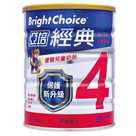 亞培經典4號兒童奶粉1650g(6罐裝)