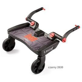 【紫貝殼】『GE05-1』瑞典 Lascal Maxi 萊斯卡嬰兒手推車 輔助踏板 (加大版型)(黑色)【承重20公斤/符合歐洲安全標準EN1888:2003】