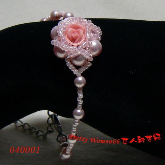 玫瑰花纹身黑色手腕