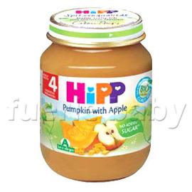 HiPP喜寶有 機南瓜蘋果泥125g