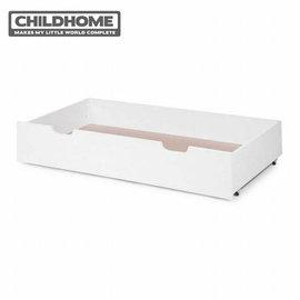 【安琪兒】比利時【Childhome】時尚設計款嬰兒床配件-收納抽屜(椰子白)