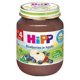 HiPP喜寶有 機蘋果小藍莓泥125g