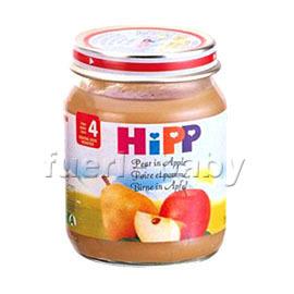 HiPP喜寶有 機蘋果西洋梨泥125g