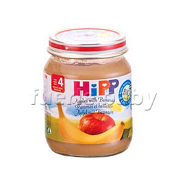 HiPP喜寶有 機蘋果香蕉泥125g