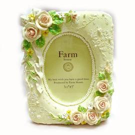 【花現幸福】☆夢幻玫瑰波麗相框200元☆結婚禮物  婚禮小物