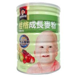 桂格成長麥粉五種水果-三益菌 500g (12罐裝)