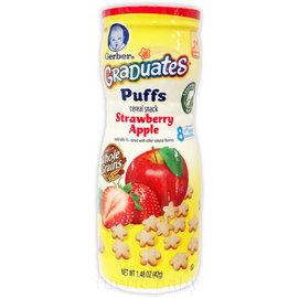嘉寶星星餅乾-草莓蘋果口味