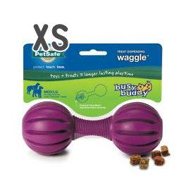 美國普立爾 Premier Busy Buddy 搖搖啞鈴抗憂鬱玩具(XS)狗益智玩具