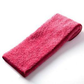 汽車打蠟布 ~ 長毛絨超細纖維擦拭布紅色37X37cm|DIY打臘必買下臘很 |米羅汽車美
