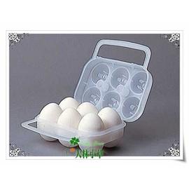 大林小草~【84701000】日本 LOGOS蛋盒六粒裝 攜帶式,適合您露營、戶外活動