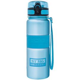 太和工房負離子能量不銹鋼隨手瓶550cc【藍】