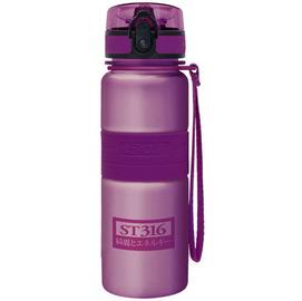 太和工房負離子能量不銹鋼隨手瓶550cc【深紫】
