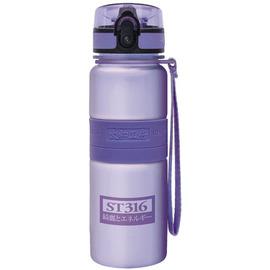 太和工房負離子能量不銹鋼隨手瓶550cc【淡紫】