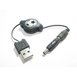 (可拆式)nokia 粗圓孔(大頭)/3.5mm 伸縮線/傳輸線/充電線 (80CM)  [AUO0002]