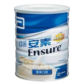 亞培安素優能基香草配方奶粉850g(12罐裝)