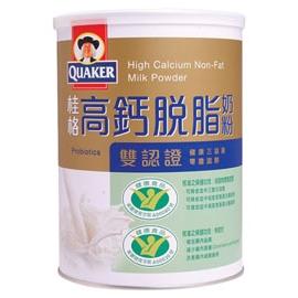 桂格雙認証高鈣脫脂奶粉1500g(6罐裝)