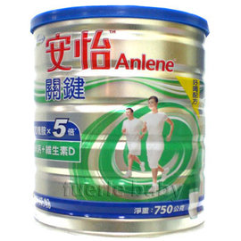 安怡關鍵高鈣奶粉750g(12罐裝)