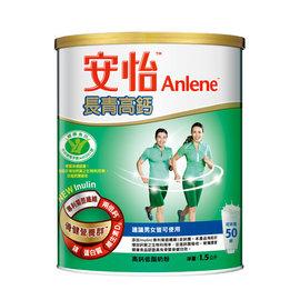 安怡長青奈 米鈣高鈣奶粉1.5kg(6罐裝)