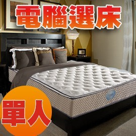 獨立筒床墊 比利時 乳膠 Q彈有力 單人 MIT 國家專利電腦選床 ~睡眠 SL5203~