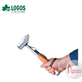 NO.71996509 日本品牌LOGOS 多功能三寶鐵槌 鐵鎚 營釘鎚 營釘槌 營鎚 營錘拔釘器