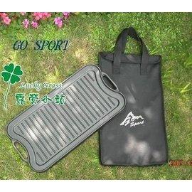 大林小草~【40453】GO SPORT 鑄鐵雙面長方形烤盤
