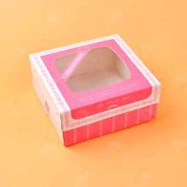 【艾佳】西點餐盒(米白A07-3-1)10入/組