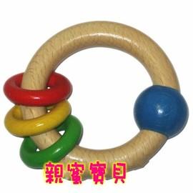 貝喜力克木頭玩具--手搖環 *質感優新上市!!!*