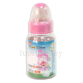 奶瓶家族neinei-玻璃專利奶嘴標準奶瓶120ML