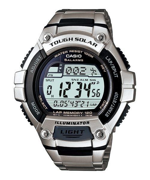 电多功能钢带 电子  表 w-s220d-1a; casio太阳能手表|卡西欧电子表