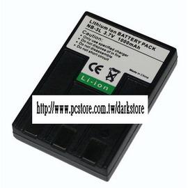 (黃)canon/佳能 適用機型IXY IXUS 700 750 I II Iis i5 30 30a 600 700 L L2 - NB-3L 防爆鋰電池 (1000mA)