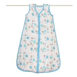 Aden  Anais 四層特級純棉嬰兒睡袋^(厚款^) ~ 燦爛星光藍色系star br