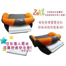 HH婦幼館~1公分厚舒適安全防震墊~適用本賣場兒童汽車安全座椅增高墊(單片)