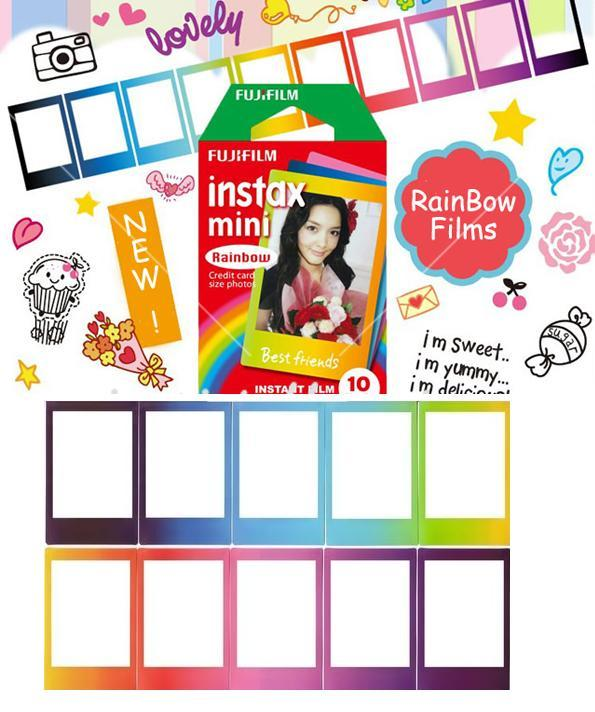 pchome online fujifilm instax mini rainbow. Black Bedroom Furniture Sets. Home Design Ideas