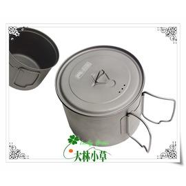 大林小草~【KT-11 】犀牛RHINO 鈦合金超輕湯壼、 900CC鈦杯 鈦碗 鈦鍋