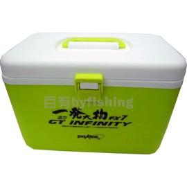 ◎百有釣具◎太平洋POKEE 一發大物 活力FX-7 綠色 冰箱活餌桶 ~